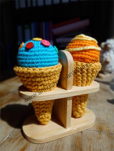 Amigurumi Eis Lecker Einfach Für Anfänger