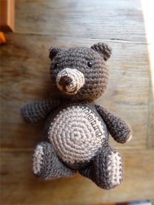 Amigurumi-Teddy