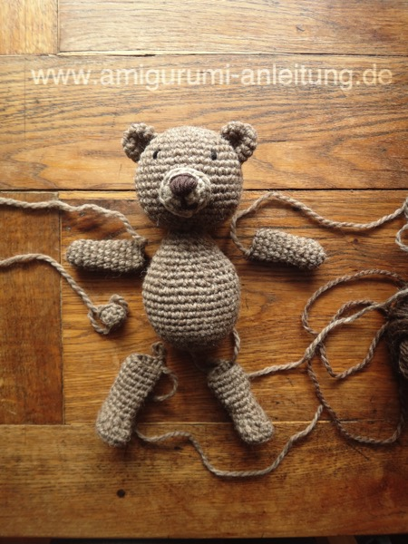 amigurumi tier anleitungen einfach perfekt tiere h keln. Black Bedroom Furniture Sets. Home Design Ideas