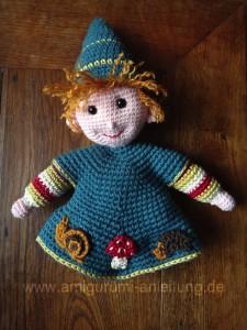 Puppen häkeln - Mini-Puppen häkeln--Amigurumi | 300x225