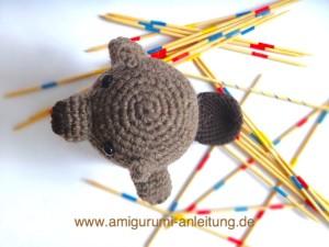 Amigurumi beaver