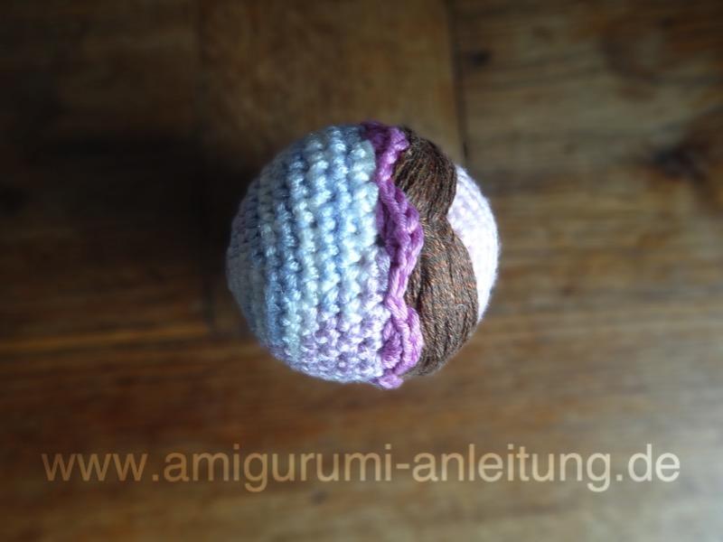 Amigurumi Matroschka Mit Lavendelpo