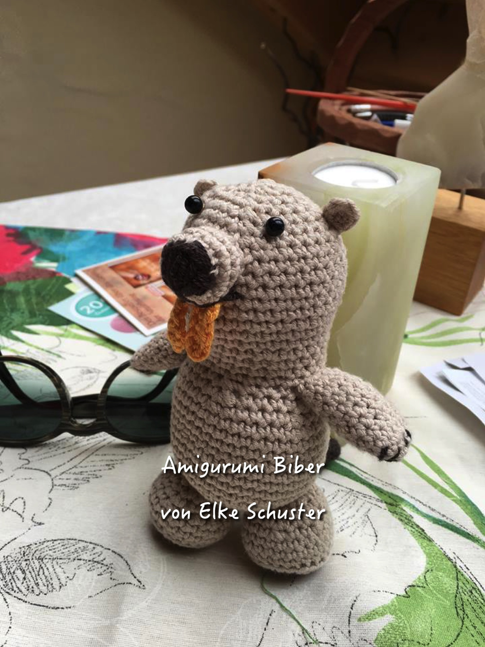 Amigurumi Biber von Elke Schuster